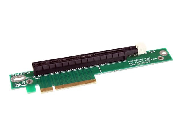 StarTech.com PCI Express Riser Card x8 to x16 Left Slot Adapter for 1U Servers, PEX8TO16R