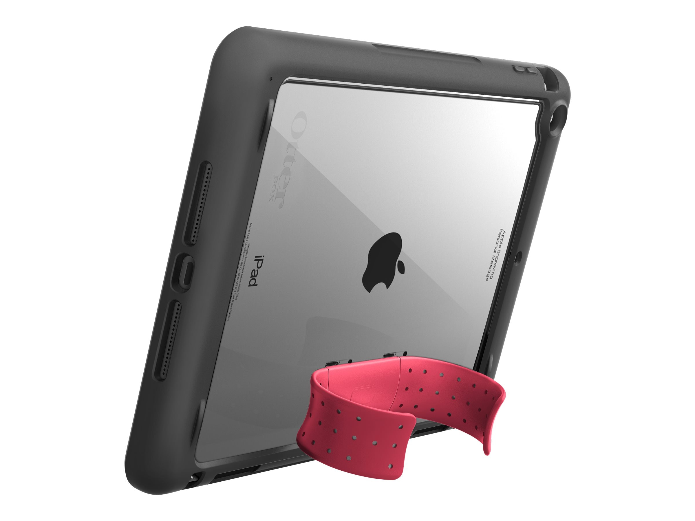 OtterBox Unlimited Stand for iPad Air, Blaze Pink, 78-41172, 18661093, Carrying Cases - Tablets & eReaders