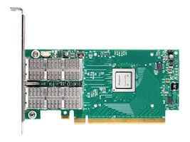 Mellanox ConnectX-4 EN 2-Port QSFP Ethernet Network Interface Card, MCX416A-BCAT, 21565692, Network Adapters & NICs