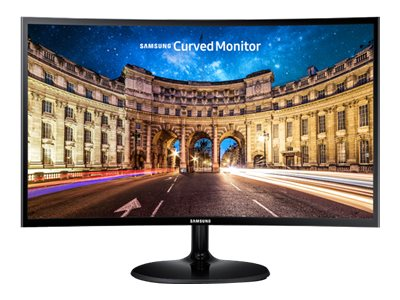 Samsung 21.5 CF390 Full HD LED Curved Monitor, Black, LC22F390FHNXZA