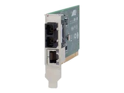 Allied Telesis 100TX to 100FX SC PCI Bus Media Converter, AT-MC102XLPCI-001, 13017629, Network Transceivers