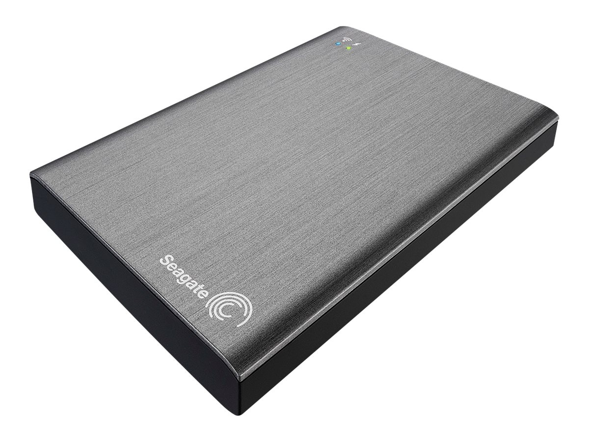 Seagate 1TB Wireless Plus Mobile Device Storage, STCK1000100, 15208963, Network Attached Storage