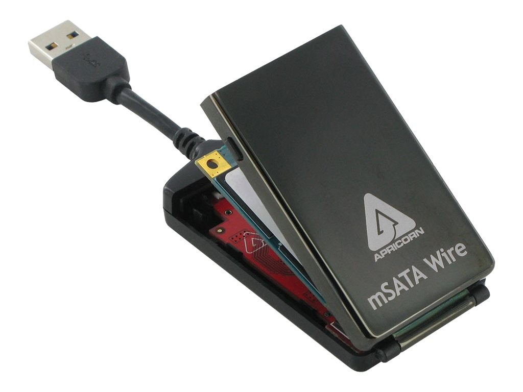 Apricorn SATA Wire 3.0 Notebook Hard Drive Upgrade Kit with USB 3.0 Connection, AMSW-USB3, 17242735, Adapters & Port Converters