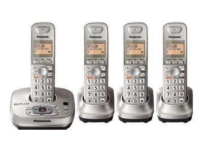 Panasonic Dect 6.0 Plus Expandable Cordless Phone, KX-TG4024N