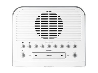 Sangean AM FM Aux Digital Clock Radio, RCR-5