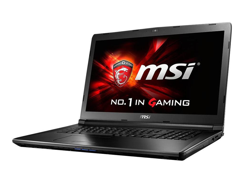 MSI GL72 Core i5-6300HQ 2.3GHz 16GB 1TB+128GB SSD DVD SM ac BT WC 6C GTX 960M 17.3 FHD W10
