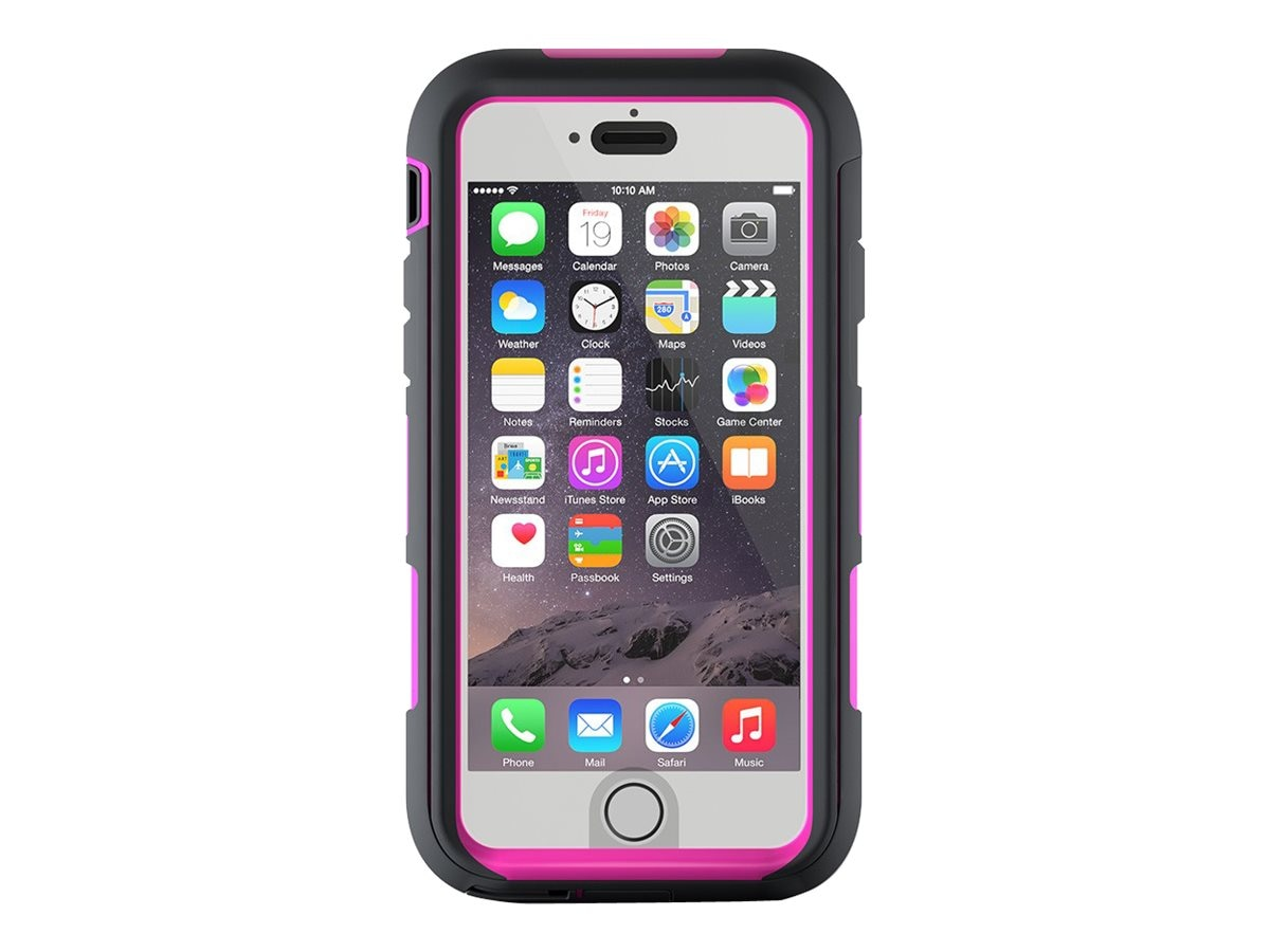 Griffin Survivor Summit Case for iPhone 6s Plus 6 Plus, Gray Pink