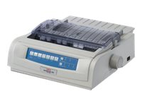 Oki MicroLine 420n 9-pin Impact Printer, 62418703, 5231481, Printers - Dot-matrix