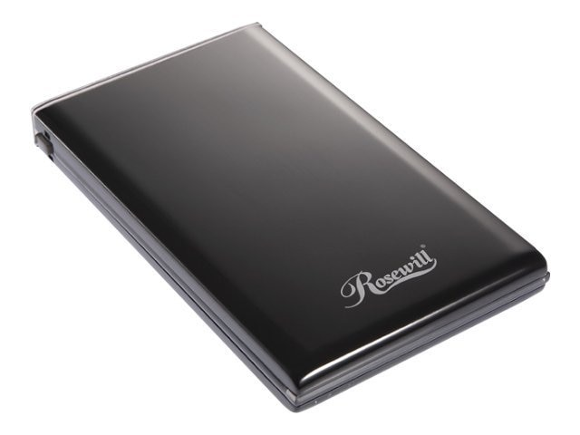 "Rosewill 2.5"" IDE External Enclosure, RX81U-ES-25B, 18009661, Hard Drive Enclosures - Single"