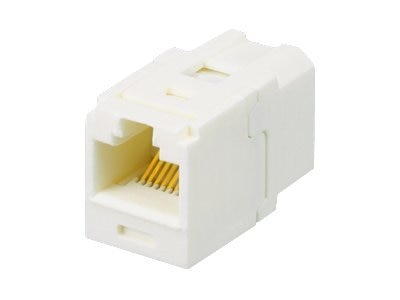 Panduit Mini-Com TX5E Coupler RJ-45 Black, CC5E88BL, 8738376, Premise Wiring Equipment
