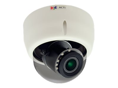 Acti 5MP Indoor Day Night Basic WDR 4.3x Zoom Dome Camera, E616