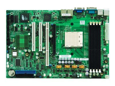Supermicro Motherboard, HT1000, Opteron 100, Max. 4GB DDR, PCIX, 2PCI, 2GBE, Video, SATA, MBD-H8SSL-I-O, 7177642, Motherboards