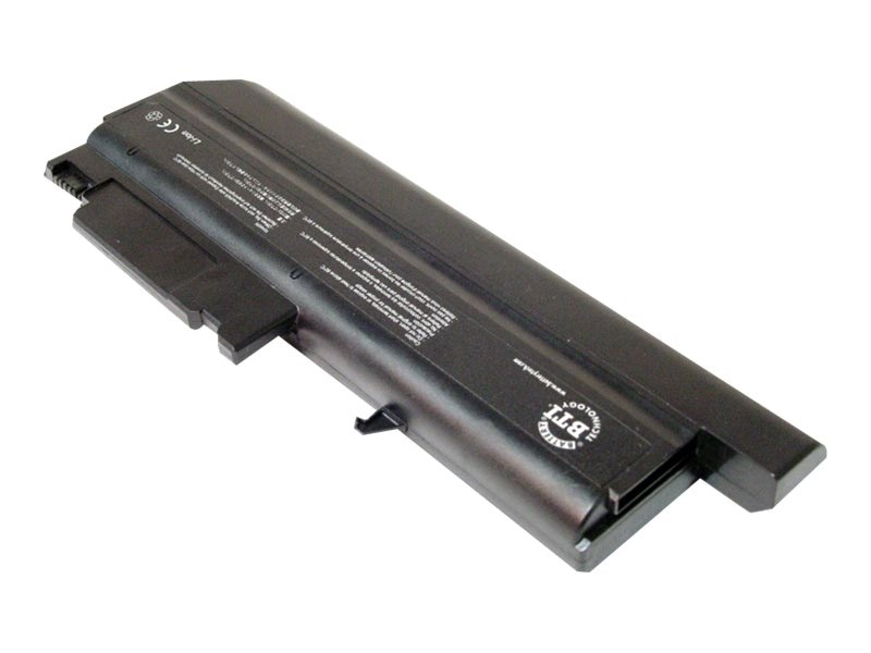 BTI Battery, High Capacity Li-Ion 6600mAh 11.1V 9-cell for ThinkPad T40, R50, IB-T40HL, 5369456, Batteries - Notebook
