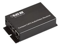 Black Box COMPACT CAT5 AUDIO VIDEO RECEIVER