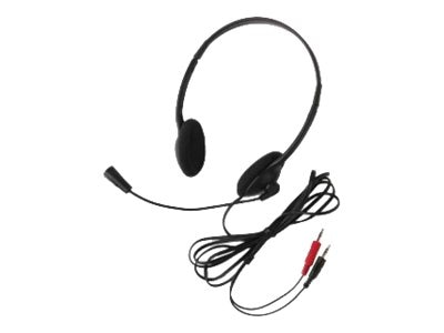 Califone Lightweight Personal Multimedia Stereo Headset, 3065AV, 31472713, Headphones