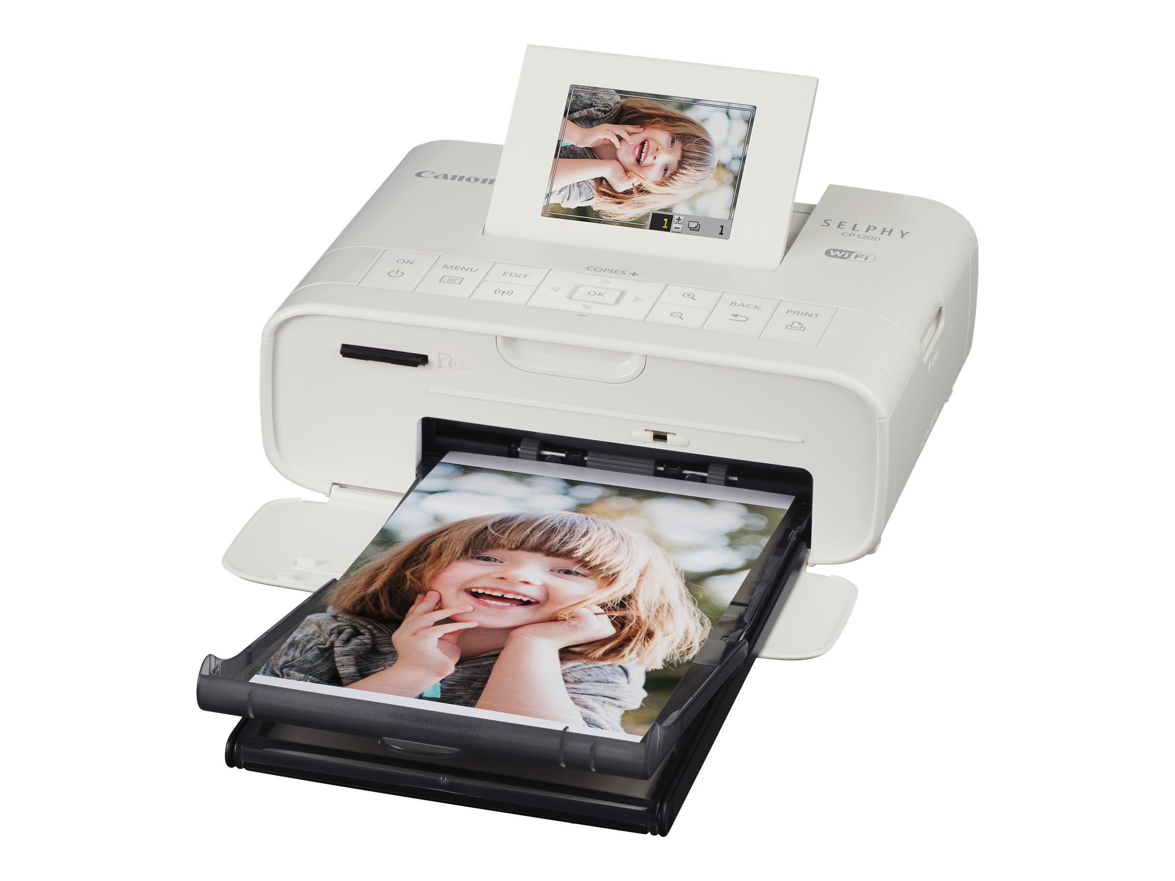 Canon CP1200 Wireless Compact Photo Printer, 0600C001, 31446507, Printers - Photo