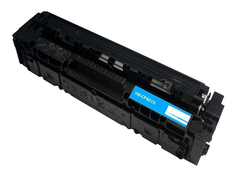Ereplacements CF401X Cyan Toner Cartridge for HP, CF401X-ER