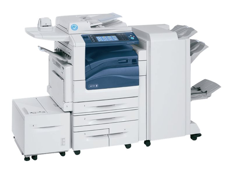 Xerox WorkCentre 7835I MFP w  4X520 Sheet Trays & 100 Sheet bypass Tray