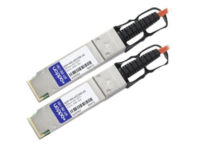 ACP-EP MSA Compliant 40GBase-AOC QSFP+ to QSFP+ Direct Attach Cable, 20m, QSFP-40G-AOC20M-AO