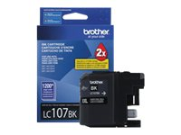 Brother Black LC107BK Innobella Super High Yield (XXL) Ink Cartridge for MFC-J4510DW, LC107BK, 14714813, Ink Cartridges & Ink Refill Kits