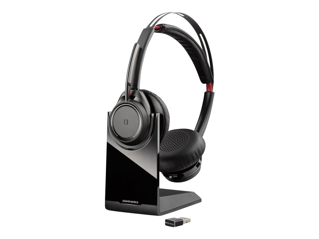 Plantronics Voyager Focus US B825-M Wireless Binaural Headset - Microsoft, 202652-02, 24400981, Headsets (w/ microphone)