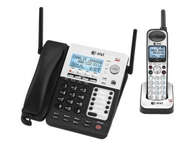 AT&T SynJ 4-Line Corded Cordless Expandable Phone, SB67138
