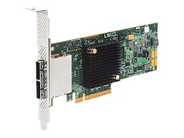 LSI 9207-8e 8-port 6Gb s SATA+SAS PCIe 3.0 Low Profile Host Bus Adapter, H5-25427-00, 31793656, Host Bus Adapters (HBAs)