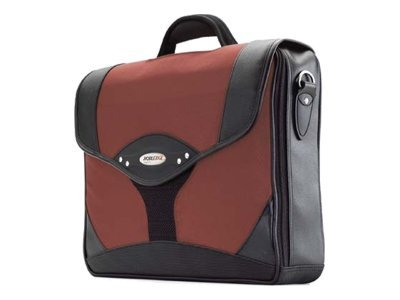 Mobile Edge Select Briefcase, Dr. Pepper Red Black, 1680D Ballistic Nylon, MEBCS7, 6101347, Carrying Cases - Notebook