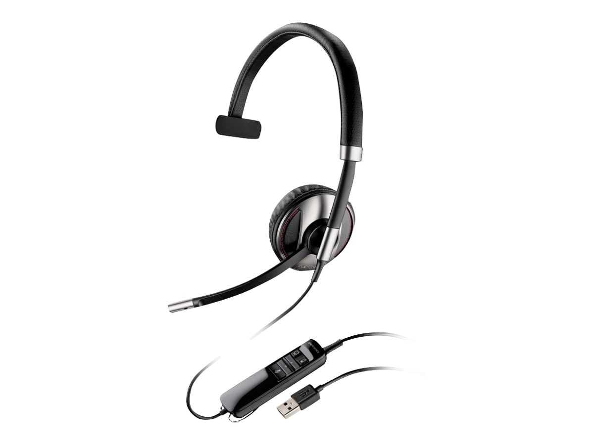 Plantronics BLACKWIRE C710 M USB Monaural, 87505-01, 14964062, Headsets (w/ microphone)