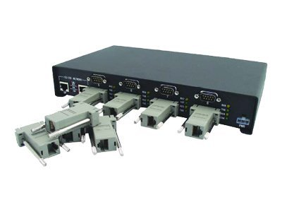 Comtrol DeviceMaster RTS 8-Port-DB9 RJ45 RoHS, 99449-7, 7220663, Remote Access Hardware