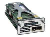 Cisco Service Module with (2) 10GbE SFP+ Ports Network Module for Netflow and MACsec Encryption, C3KX-SM-10G, 13326798, Network Device Modules & Accessories