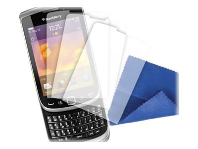 Griffin TotalGuard Screen Protectors and Cleaning Cloth for BlackBerry Torch 9810 9800, 3 Pack, GB03676, 13510683, Protective & Dust Covers
