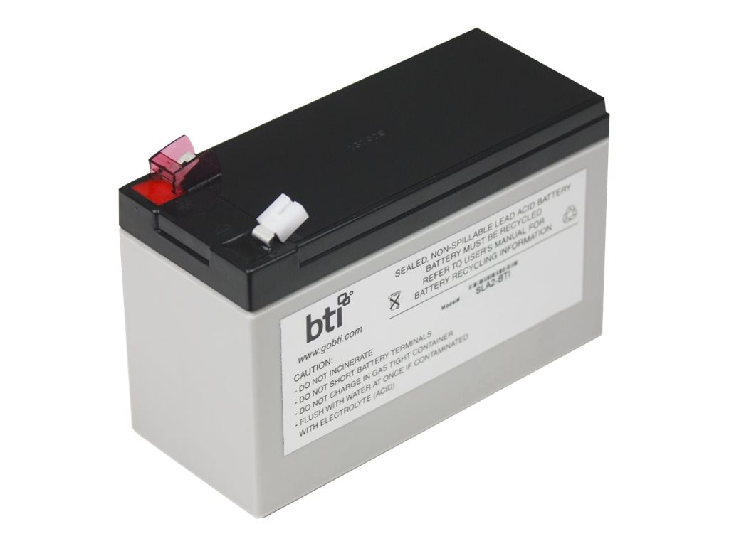 BTI Replacement Battery, RBC2, for Select APC BK and BP 280-500VA Models, RBC2-SLA2-BTI, 7149158, Batteries - Other
