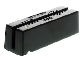 MagTek Mini USB Keyboard Emulation Magnetic Swipe Reader, Track 1-2, Black, 21040110, 449920, Magnetic Stripe/MICR Readers