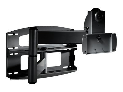 Peerless Articulating Wall Arm With Vertical Adjustment For 37 to 60 Flat Panels, PLAV60, 7086847, Stands & Mounts - AV