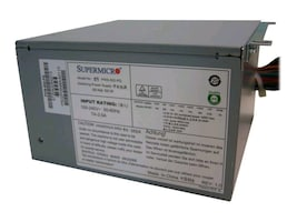 Supermicro PS2 ATX 500 Watt Multi-output High Effeciency PWS, PWS-502-PQ, 13429113, Power Supply Units (internal)