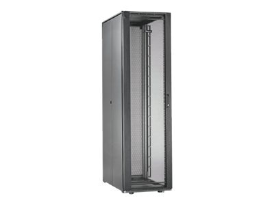 Panduit Net-Access S-Type 42U Cabinet Frame w  Top Panel, Perforated Front Door, Split Perforated Rear Doors