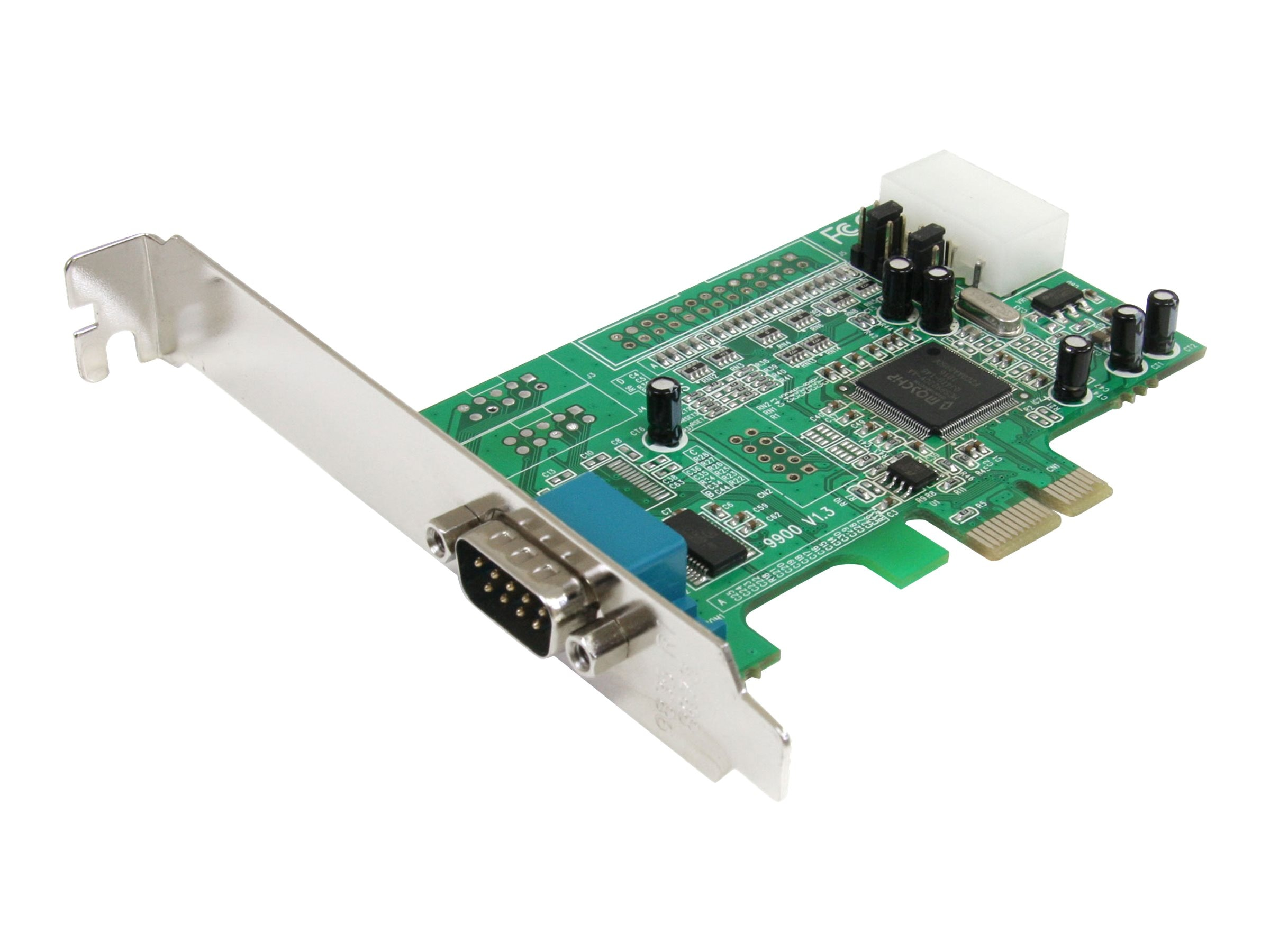 StarTech.com 1-Port Native PCI Express RS232 Serial Adapter Card with 16550 UART