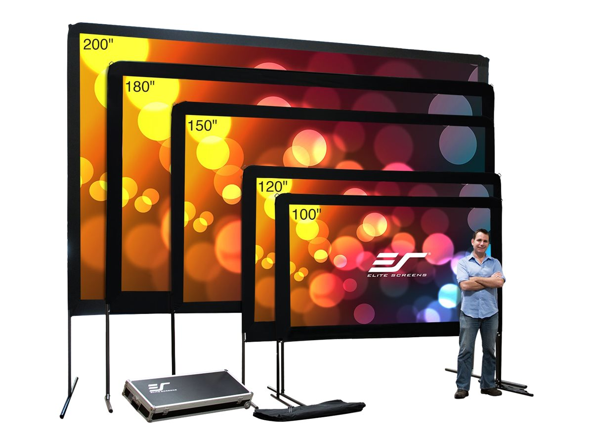 Elite Yardmaster Projection Screen, DynaWhite, 16:9, 180, OMS180H, 15983564, Projector Screens