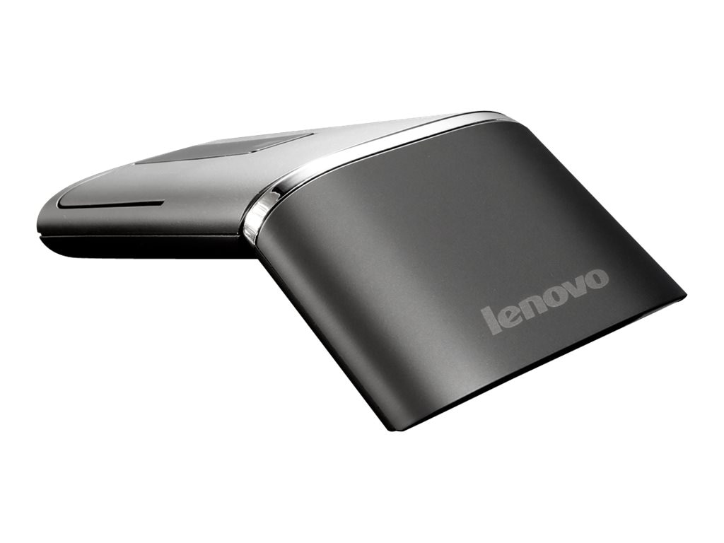 Lenovo N700 Wireless and Bluetooth Mouse and Laser Pointer, Black, 888015450, 16757518, Mice & Cursor Control Devices