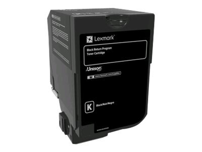 Lexmark Black Return Program Toner Cartridge for CS720, CS725 & CX725 Series, 74C10K0