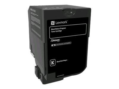 Lexmark Black Return Program Toner Cartridge for CS720, CS725 & CX725 Series