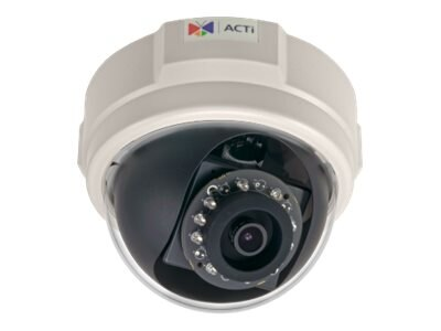 Acti 10MP Basic WDR IR Day Night Indoor Dome Camera with 3.6mm Fixed Lens, E59, 17321396, Cameras - Security