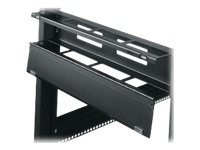 Middle Atlantic Hinged Horizontal Cable Manager, 2U, HHCM-2, 12207885, Rack Cable Management