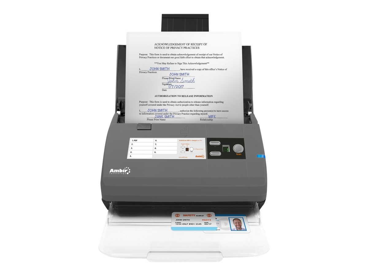 Ambir Technology DS830IX-AS Image 1