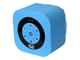 Adesso Waterproof Bluetooth Speaker - Blue, XTREAMS1L, 17456055, Speakers - Audio