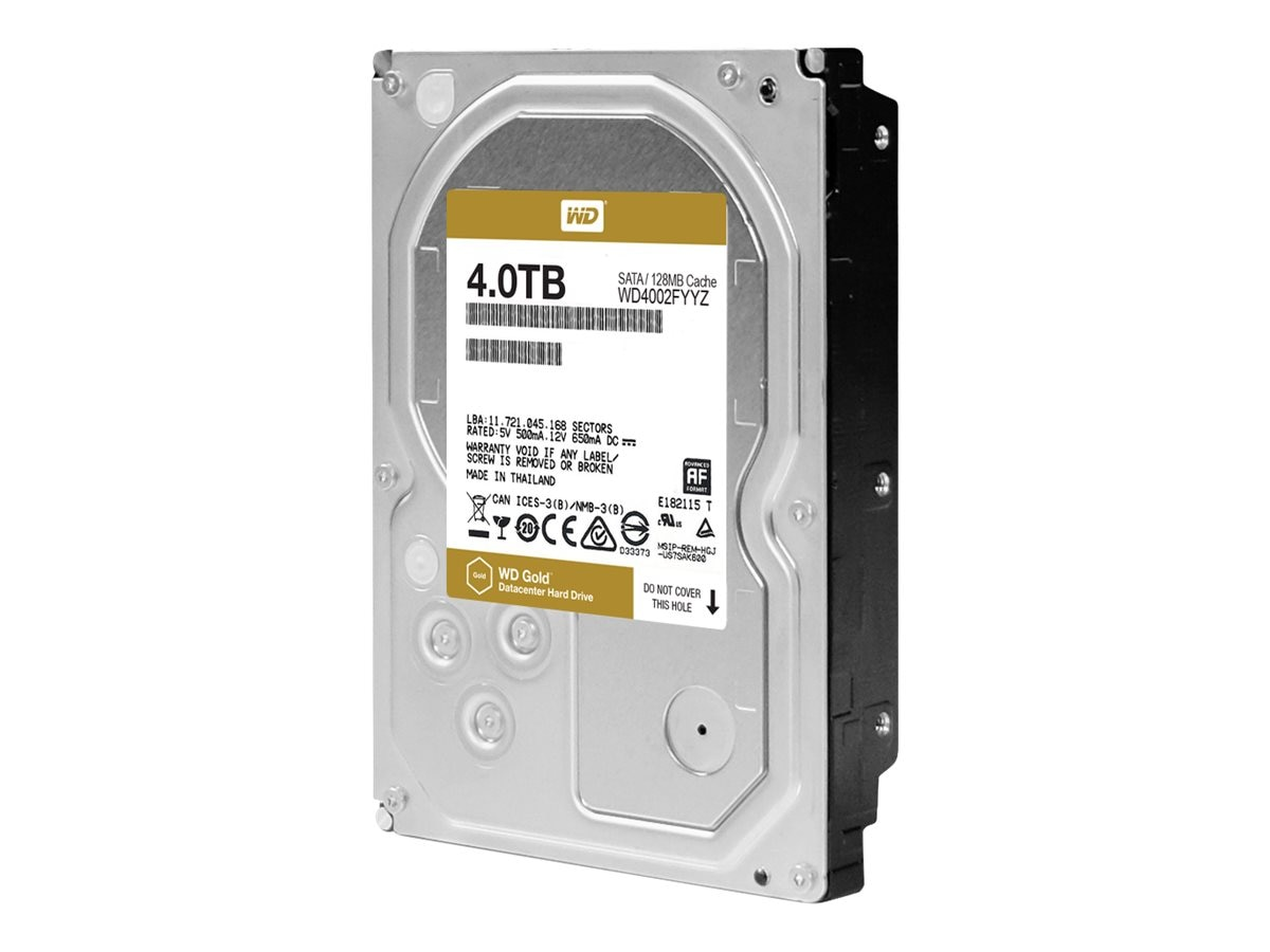 WD 4TB WD Re SATA 6Gb s 512 Native 3.5 Internal Hard Drive - 128MB Cache