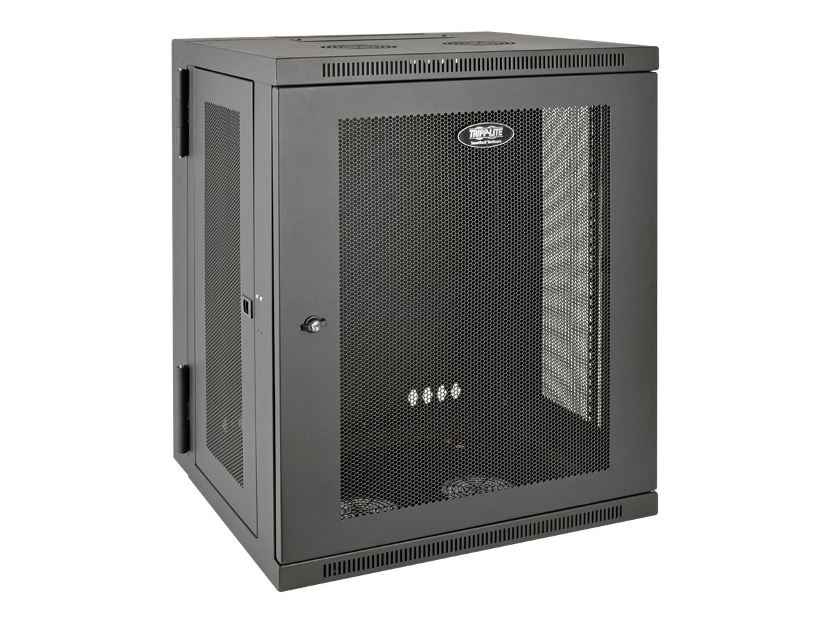 Tripp Lite SmartRack 15U Wall-Mount Rack Enclosure Cabinet, SRW15US, 17797108, Racks & Cabinets