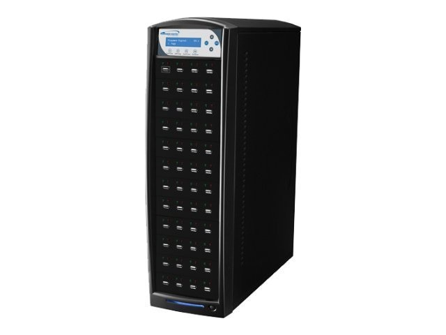 Vinpower 1:47 USBShark Copy Tower USB Flash Duplicator, USBSHARK-47T-BK