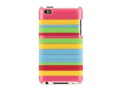 Griffin Snappy Stripes for iPod 5G, Pink